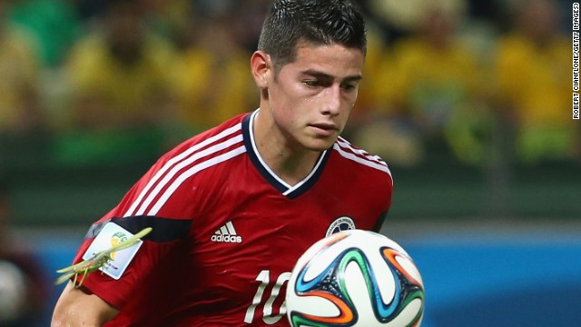 """James Rodriguez has the keys to open any door,"" former Monaco coach Claudio Ranieri said of the Colombian when he managed him last season."