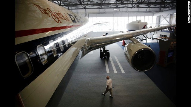 "Hard-core aviation geeks will enjoy getting close enough to ""The Spirit of Delta"" to inspect its powerful engines, massive landing gear and other exterior parts. Interactive touchscreens are scattered about the museum, so visitors can look up statistics and history of the exhibits."