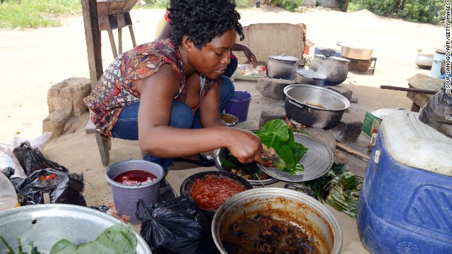 The Ivorian Ministry of Health has asked Ivorians to avoid consuming or handling bushmeat. The virus can spread to animal primates and humans who handle infected meat -- a risk given the informal tra