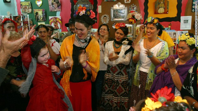 There are numerous lookalike contest across the world, such as the one shown here in Albuquerque, New Mexico.