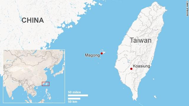 Map: Magong