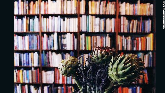 Located in a 150-year-old former speakeasy, Books for Cooks in Melbourne, Australia, has 30,000 cookbooks in stock.