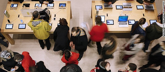 Apple profit soars on booming iPhone and Mac sales -- but wow, did iPads slump