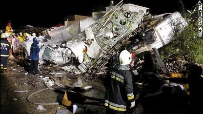 Taiwan plane crash: Dozens feared dead