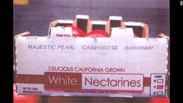 Costco white nectarines (5 lbs. per carton)