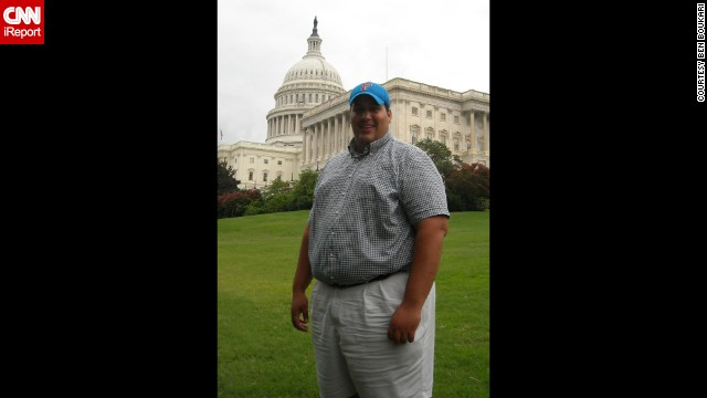 <a href='http://ireport.cnn.com/docs/DOC-1151220'>Ben Boukari</a> has always been overweight. At his heaviest, he weighed 379 pounds and had a 52-inch waist. His focus wasn't on his health but his future in politics.