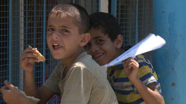 Gazan schools converted to shelters