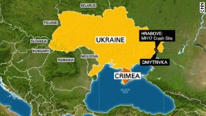 Ukraine: Jets shot down near MH17 site