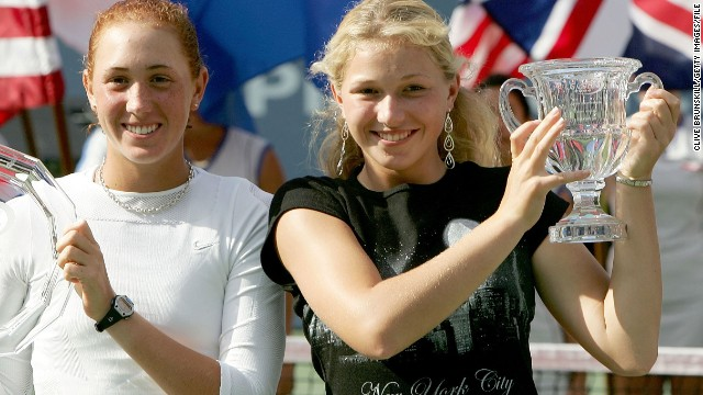 A former junior world No. 1, Krajicek won the U.S. Open girls' title in 2004, having lost in the previous year's final.