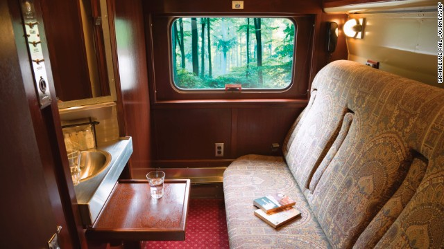 Tony and Zamir took an overnight train from Moscow to St. Petersburg, riding the rails in the lap of luxury. Pictured above is a similar luxury car. Whether you ride in luxury or shoulder-to-shoulder in a rattletrap railcar, overnight trains offer an interesting experience.
