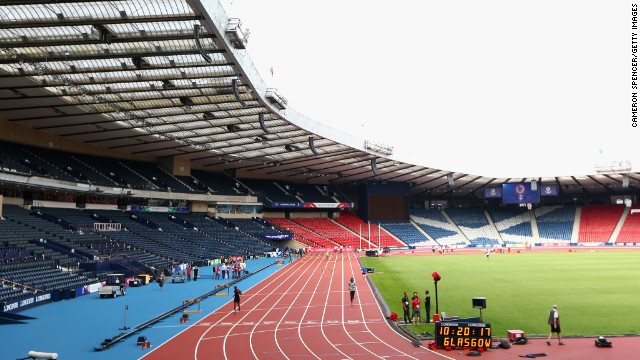 Hampden Stadium will host the track and field competition with the likes of Bolt and Farah as well as the closing ceremony on August 3.