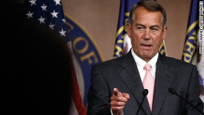 Boehner: Administration 'ought to get its act together' on border crisis
