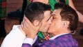 Gay kiss steals Glasgow show