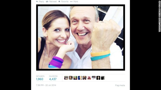 "Note to self: Start hanging out with Sarah Michelle Gellar. The former ""Buffy"" star staged a mini-reunion with co-star Anthony Head on July 22 as they showed off their wristbands for<a href='http://www.cooltobekind.org.uk/' target='_blank'> Cool To Be Kind</a>, Head's organization that supports acts of kindness to animals. So what's the rest of the cast up to these days? Let's find out:"