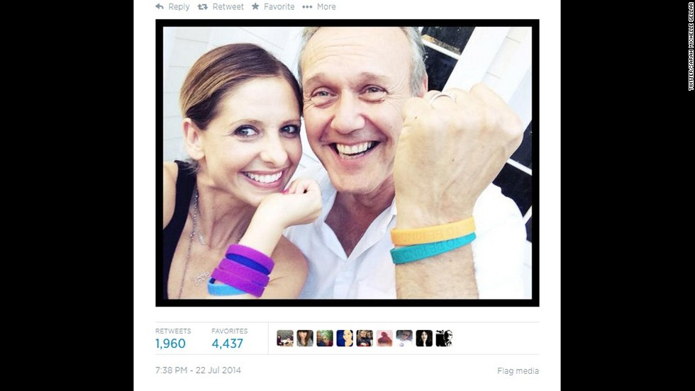 """Note to self: Start hanging out with Sarah Michelle Gellar. The former """"Buffy"""" star staged a mini-reunion with co-star Anthony Head on July 22 as they showed off their wristbands for<a href='http://www.cooltobekind.org.uk/' target='_blank'> Cool To Be Kind</a>, Head's organization that supports acts of kindness to animals. So what's the rest of the cast up to these days? Let's find out:"""