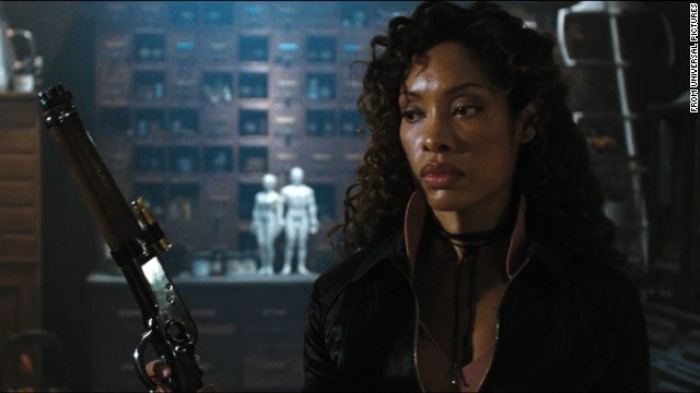 "Mal trusts no one more than his right-hand woman Zoe, played by Gina Torres, in the beloved, short-lived series ""Firefly."""