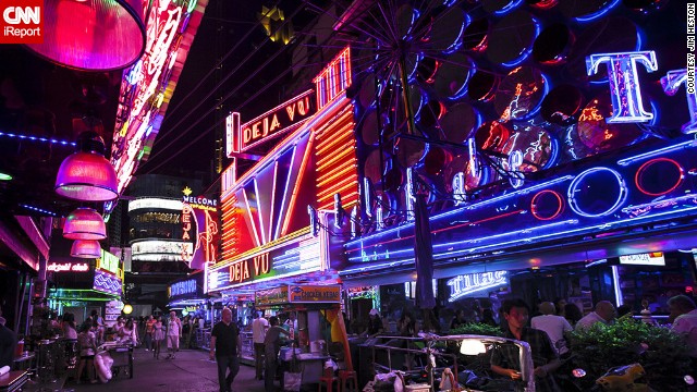 "Neon might be fading, but there are still plenty of places around the world to spot the glowing signs. Soi Cowboy, Bangkok's red-light district, ""has to be one of the largest displays of neon in such a tight confined area,"" <a href='http://ireport.cnn.com/docs/DOC-1152069'>iReporter Jim Heston said</a>."
