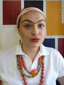 "<a href='http://lipmag.com/author/lip-magazine/' target='_blank'>Sarah Iuliano</a>, a journalism student, dressed as Frida Kahlo to give a presentation about her work in an art class aged 16. ""Focusing on Kahlo's appearance rather than her work was of course not my intention, but to me, Frida Kahlo's look signifies freedom. Freedom to mix and match qualities considered to belong to either side of the frustrating gender binary, in both appearance, work and identity,"" she says."
