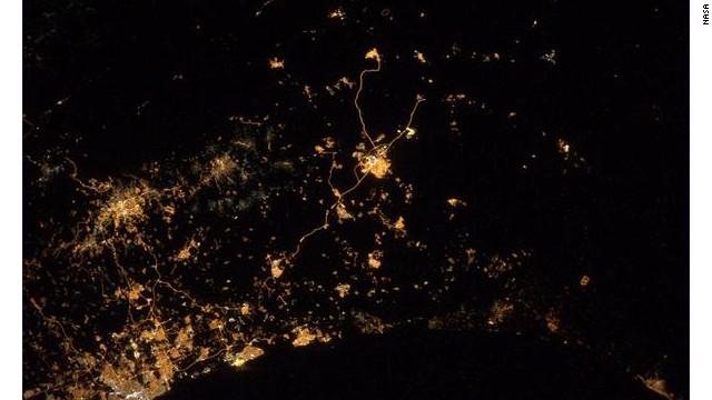 Así se ven los ataques en Israel y Gaza desde el espacio