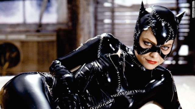 "We'd rather not remember Halle Berry's take on the seductive thief, Catwoman, but Julie Newmar, Eartha Kitt, Lee Meriwether and Anne Hathaway were all splendid in the role. But for our money, Michelle Pfeiffer (pictured) in ""Batman Returns"" is the Catwoman to beat."