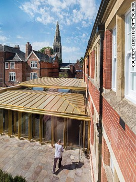 The new attraction is housed in an old school just a stone's throw from Leicester's Cathedral, where Richard III will be laid to rest in 2015.
