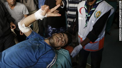U.N.: Strike hits Gaza shelter