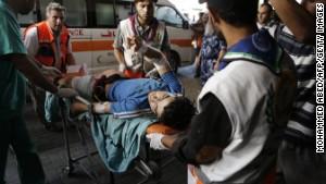 U.N. Security Council calls for immediate cease-fire in Gaza