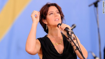 Sarah McLachlan on parenting and sex!