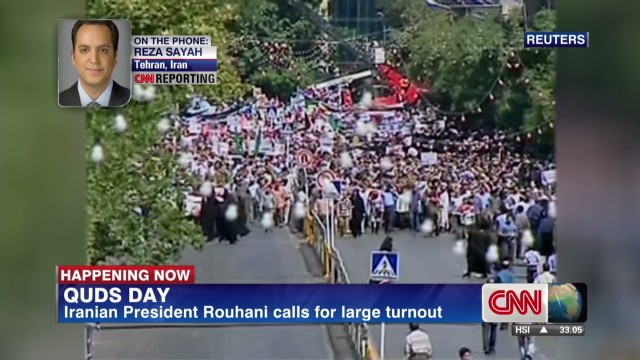 Thousands turn out for Quds Day in Iran