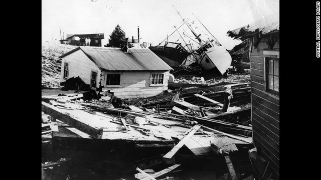 On March 27, 1964 -- Good Friday -- the area around Anchorage, Alaska, was shaken by a magnitude 9.2 earthquake, the most powerful earthquake in U.S. history. An estimated 139 people died, most due to tsunamis in Alaska and down North America's West Coast. It made the front page, but a similar event today, thanks to news-gathering technology, would likely be even more heavily covered. At least scientists learned a lot.