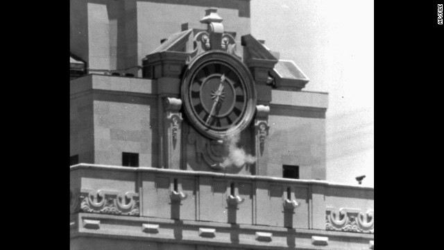 On August 1, 1966, Charles Whitman -- who had already killed his wife and mother -- went to the top of the University of Texas Tower and shot 46 people, killing 16. In the '60s, such a mass shooting was almost unthinkable. In recent years, we've experienced them more often.