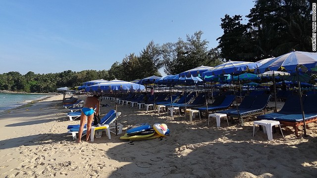 Phuket's Surin Beach was once home to multiple beach clubs and illegal structures.