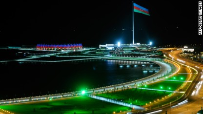 Motorsport: Azerbaijan to host F1