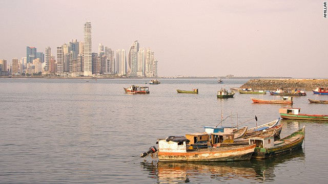 One of the best places to eat in Panama City is the fish market, with views across the water, a good restaurant upstairs and stalls below for freshly caught ceviche.