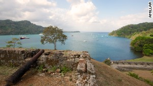 Pirate history by the water\'s edge.