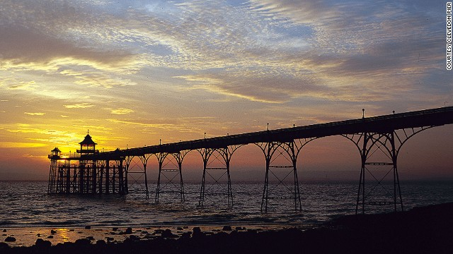 "Late English poet Sir John Betjeman described Clevedon Pier as ""the most beautiful pier in England."""