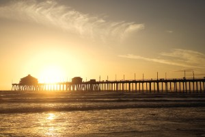 Muelle de Huntington Beach (California)
