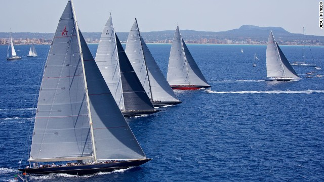 Restored, and often modified, they take part in modern-day regattas such as the Superyacht Cup in Palma.