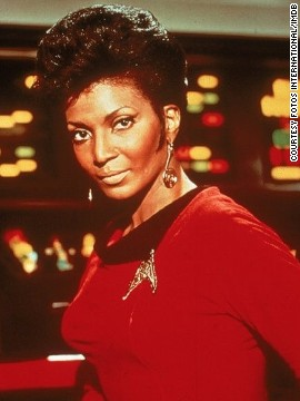 "The actress named her character ""Uhura"" after the Swahili word ""uhuru,"" meaning freedom. ""The writers loved the idea, but they thought uhuru sounded too harsh. So we softened it and put an ""a"" at the end, she explained."