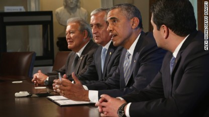 Obama, Central American leaders talk about stemming the flow
