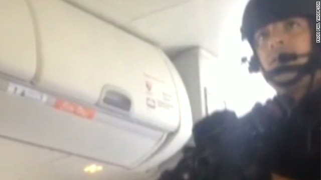 Canadian airline passenger arrested by SWAT is mentally ill, father says