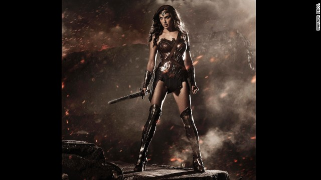 "Gal Gadot's Wonder Woman from ""Batman v Superman: Dawn of Justice"" was unveiled at 2014's San Diego Comic-Con. She is the latest in a long line of women who have show"