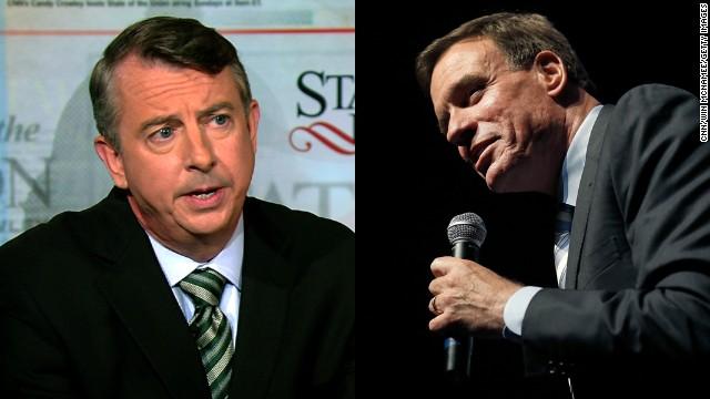 Senate candidates from Virginia spar, politely, in first debate
