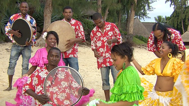 Originally created as slave music, sega music was frowned upon by some for years. Today, it is the traditional music of the island.