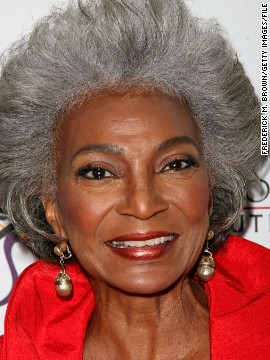 """There was hardly anyone on television of my race at the time in the 1960s,"" said 81-year-old Nichols. ""Occasionally you'd see someone very well known, but this was a long-running role. So it was a wonderful opportunity, to do something"