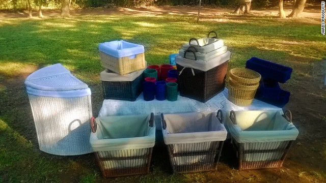 The company's wide range of products include anything from garden sets and rocking chairs to elaborate baskets and outdoor tables.