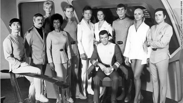"The cast of 1979's ""Star Trek: The Motion Picture,"" the first feature film from the TV series."