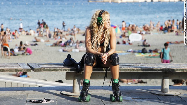 If it's good enough for Shakira, Spain's Barceloneta Beach is good enough for anyone.
