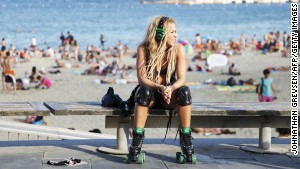 If Barceloneta Beach is good enough for Shakira ...