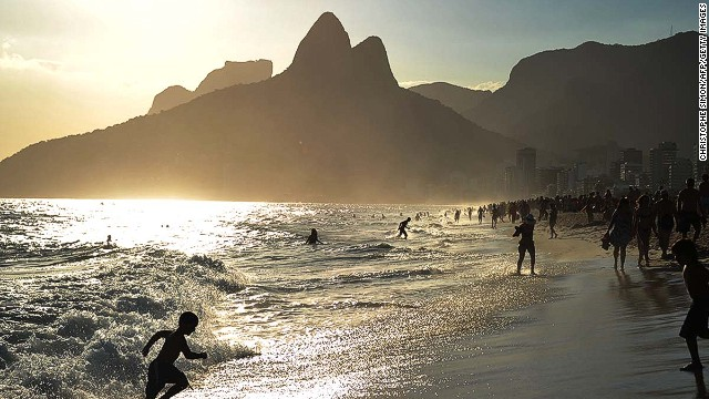 Brazil's Ipanema Beach is beautiful, but the currents can be wild. Just like the nightlife.